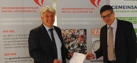 RAL-Gütezeichen 724 an die Firma ELM Ersatzbrennstoff GmbH & Co. KG verliehen