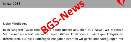 BGS-News Juni 2020 erschienen