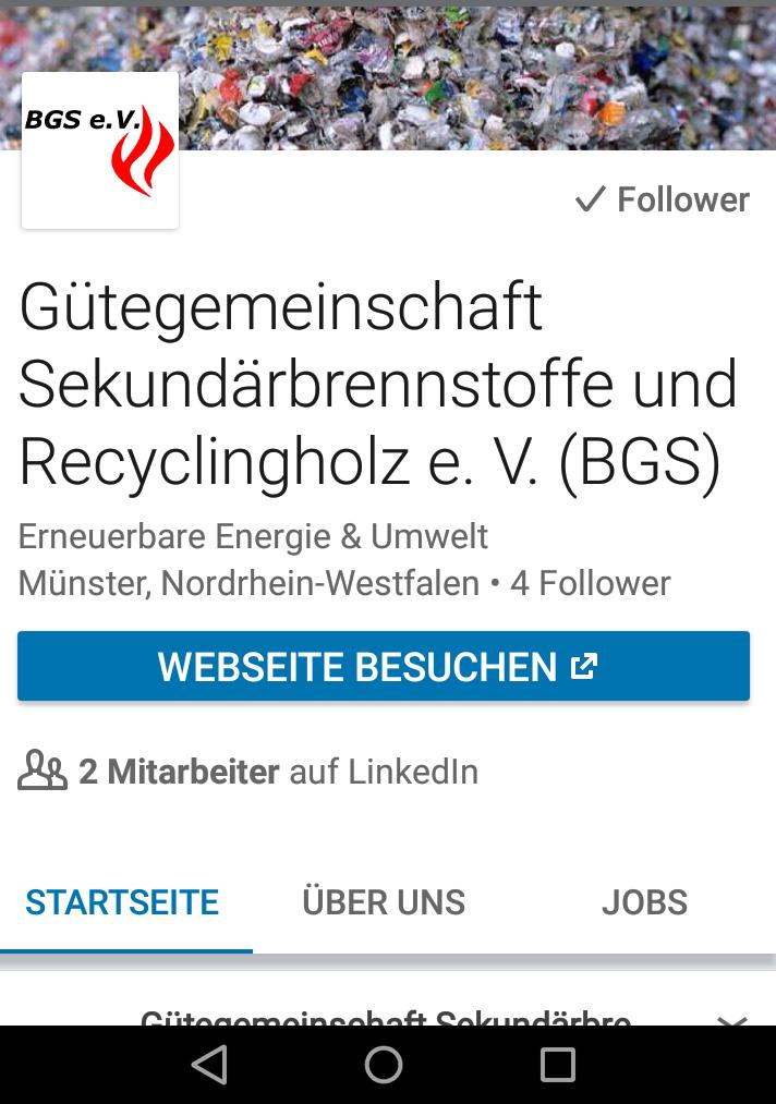BGS bei Linkedin
